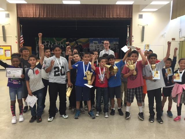 ASES Soccer Celebration! 3rd Place!